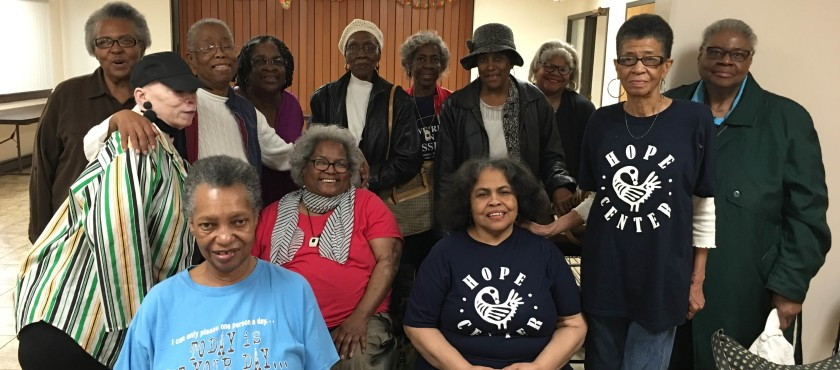 Hope Center's Seniors on the Move